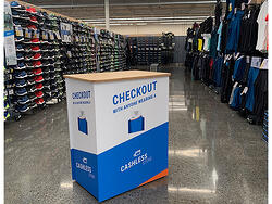 Chashless Checkout Stand