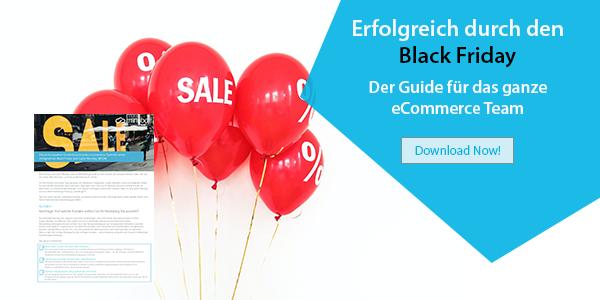 eCommerce Guide: Für einen erfolgreichen Black Friday & Cyber Monday