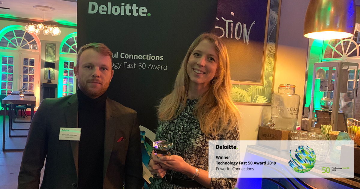 Success at the Deloitte Technology Fast 50 Awards.