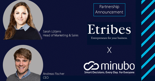 Two companies, one mission: Etribes & minubo expand partnership