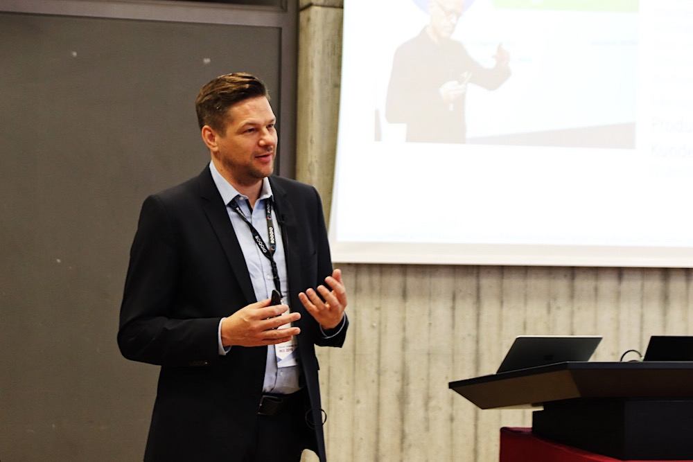 Data-driven trade associations: minubo CEO Lennard Stoever Presented at the HIS Conference 2019