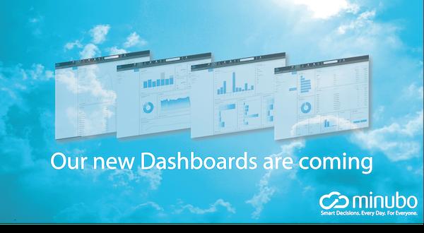 Release! Das neue minubo Dashboarding Tool überzeugt mit Flexibilität und tollen Features.