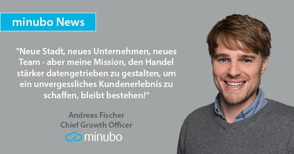Modomoto Gründer Andreas Fischer wechselt zum BI-Anbieter minubo
