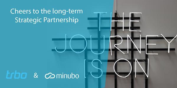 Die digitale Customer Journey ganzheitlich personalisieren. Durch die Partnerschaft von trbo und minubo wird das möglich.