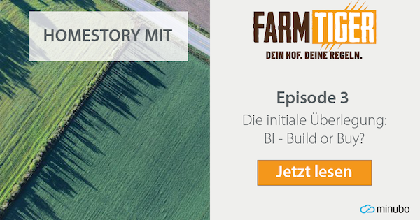 FarmTiger Homestory: #3 Die initiale Überlegung: BI – Build or Buy?