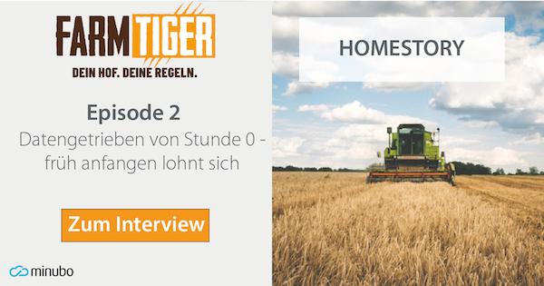 FarmTiger Homestory: #2Datengetrieben von Stunde 0 - früh anfangen lohnt sich